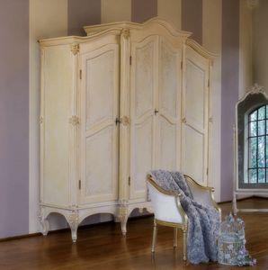 Art. 0187, Klassischer Kleiderschrank für Schlafzimmer