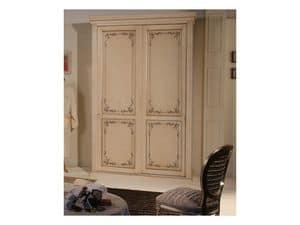 Art. 2013 Delyse, Schrank mit zwei Türen, in Buche eingerichtet, für Hotel