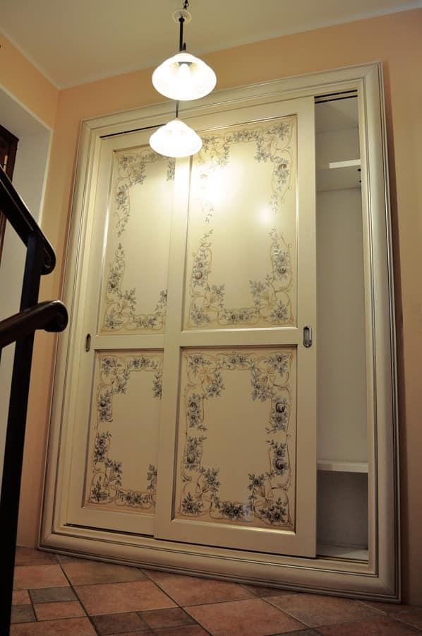 kleiderschrank mit schiebet ren zeitgen ssischen. Black Bedroom Furniture Sets. Home Design Ideas
