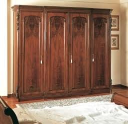 Art. 294 Kleiderschrank Sizilianer 800, Handmade Schrank, für klassischen Stil Schlafzimmer