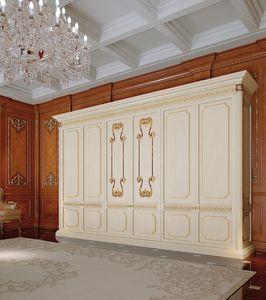 Art. 810/W, Klassischer Kleiderschrank für Schlafzimmer