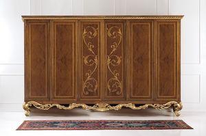Art. 830/W, Kleiderschrank mit Briar Türen