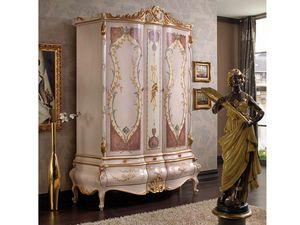 Marie Claire Kleiderschrank, Kleiderschrank mit handverzierten Türen