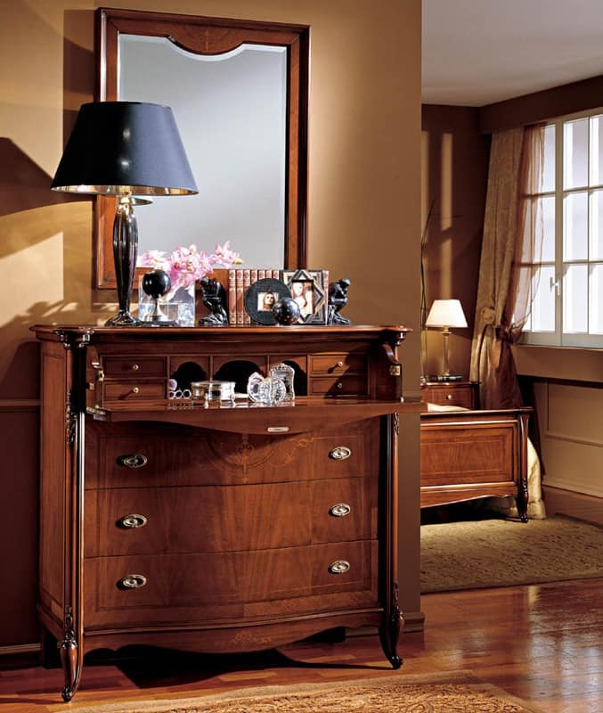 Wooden kommoden f r klassische wohnzimmer idfdesign - Klassische wohnzimmer ...