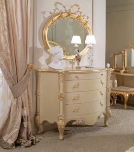 Art. 0188, Geschnitzte Kommode für klassische Schlafzimmer