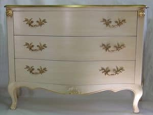 Art. 1787 ivory, Kommoden in dekorierten Holz, für Luxus klassische Zimmer