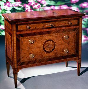 Art. 203 Rosone, Kommode aus Holz mit klassischer Dekoration