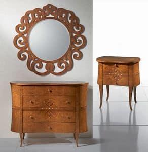 Bild von CO09 Novecento, hand dekoriert anrichte im klassischen stil