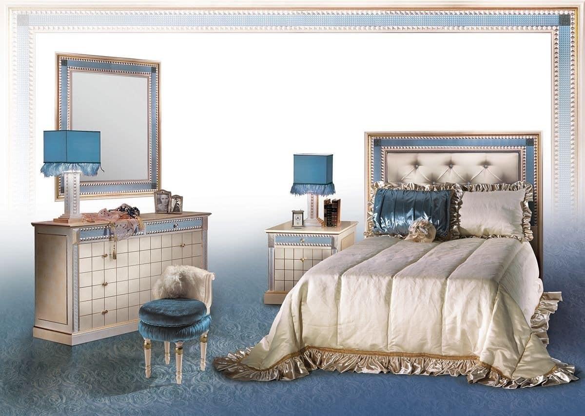 Klassische Kommode mit Spiegel, Luxus-Schlafzimmer fueniture | IDFdesign