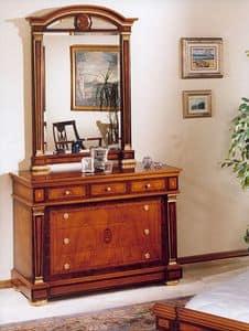 impero / Komode, Kommode mit Luxus-Ausstattung, klassischen Stil