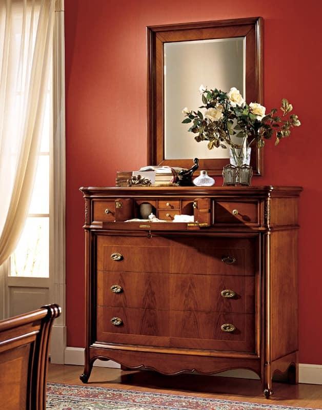 holzkommode mit luxuri sen finish f r schlafzimmer idfdesign. Black Bedroom Furniture Sets. Home Design Ideas