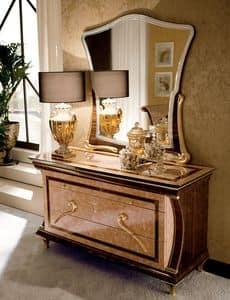 luxus klassischen kommode dradrews in nussbaum zur burg. Black Bedroom Furniture Sets. Home Design Ideas
