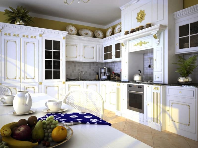 luxus kuche versailles ka 1 4 che lackiertem holz mit reichen oberflachen kuchen rezepte