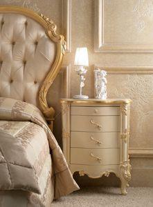 Art. 0189, Geschnitzter Nachttisch für Zimmer im klassischen Stil