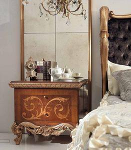 Art. 830/C, Luxuriöser handgefertigter Nachttisch