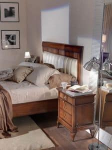 Art. CA722, Holz Nachttisch für Schlafzimmer mit einem modernen klassischen Stil