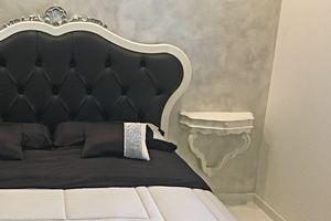 Roma Nachtschränkchen, Klassisches Design Nachttisch, mit Schublade