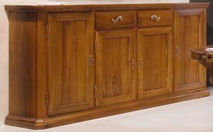 '500 170, Sideboard im klassischen Stil, aus Nussbaumholz