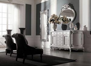 Art. 0147, Luxuriöses Sideboard im klassischen Stil mit Schubladen