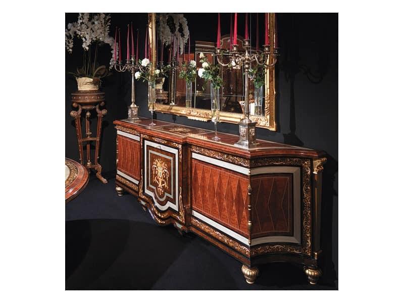 luxus wohnzimmer schränke:Klassische Anrichten Hotel – Art. 1091 von Bellotti Ezio Arredamenti