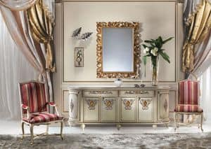 Calipso MB/114, Luxus klassischen Sideboard, Hand dekoriert