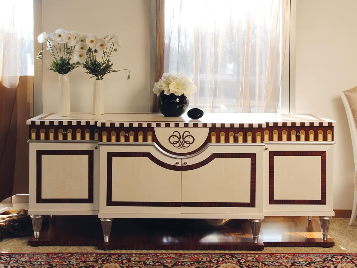modernes klassisches sideboard f r esszimmer idfdesign. Black Bedroom Furniture Sets. Home Design Ideas