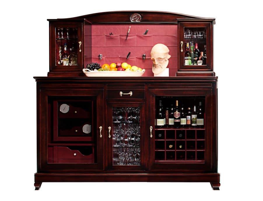 Kleiner Runder Kühlschrank : Wine bar handy mit kühlschrank für flaschen und zigarren humidor