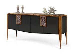 LEXINGTON AVENUE Anrichte, Luxus Sideboard in eingelegten Holz