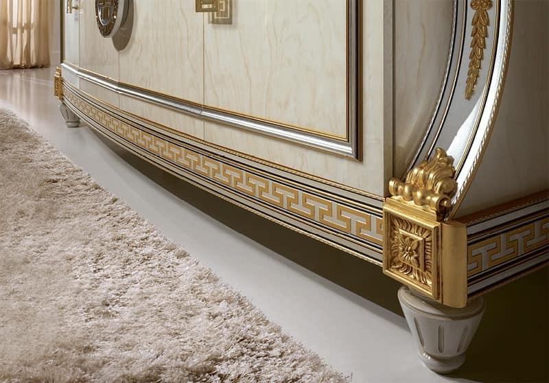 luxuri se sideboard im klassischen stil aus holz von hand verziert geeignet f r die dekoration. Black Bedroom Furniture Sets. Home Design Ideas