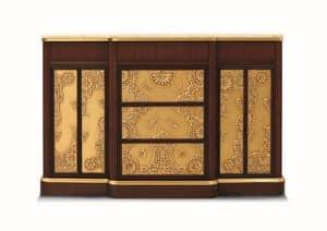 Orion, Wohnzimmermöbel, Art Deco-Stil, mit Marmorplatte