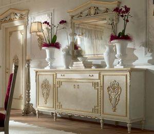 San Pietroburgo Art. CRE02/L228, Anrichte für Esszimmer im klassischen Stil