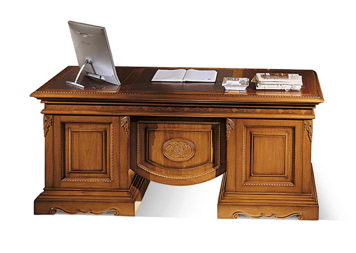 klassische schreibtische luxury klassischen schreibtisch aus holz f r haus idfdesign. Black Bedroom Furniture Sets. Home Design Ideas