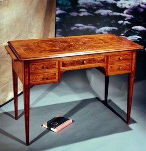 Art. 173 Parigi, Klassischer Schreibtisch, ausziehbare Platte