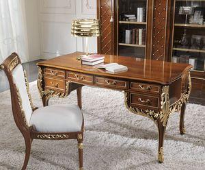 ART. 3028, Klassischer Schreibtisch aus Holz