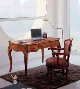 Art. 438, Schreibtisch mit feinen Oberflächen ideal für klassische Büros