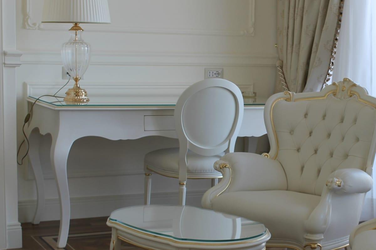 Butterfly Schreibtisch, Schreibtisch Für Schlafzimmer, Stilisierte  Barockstil