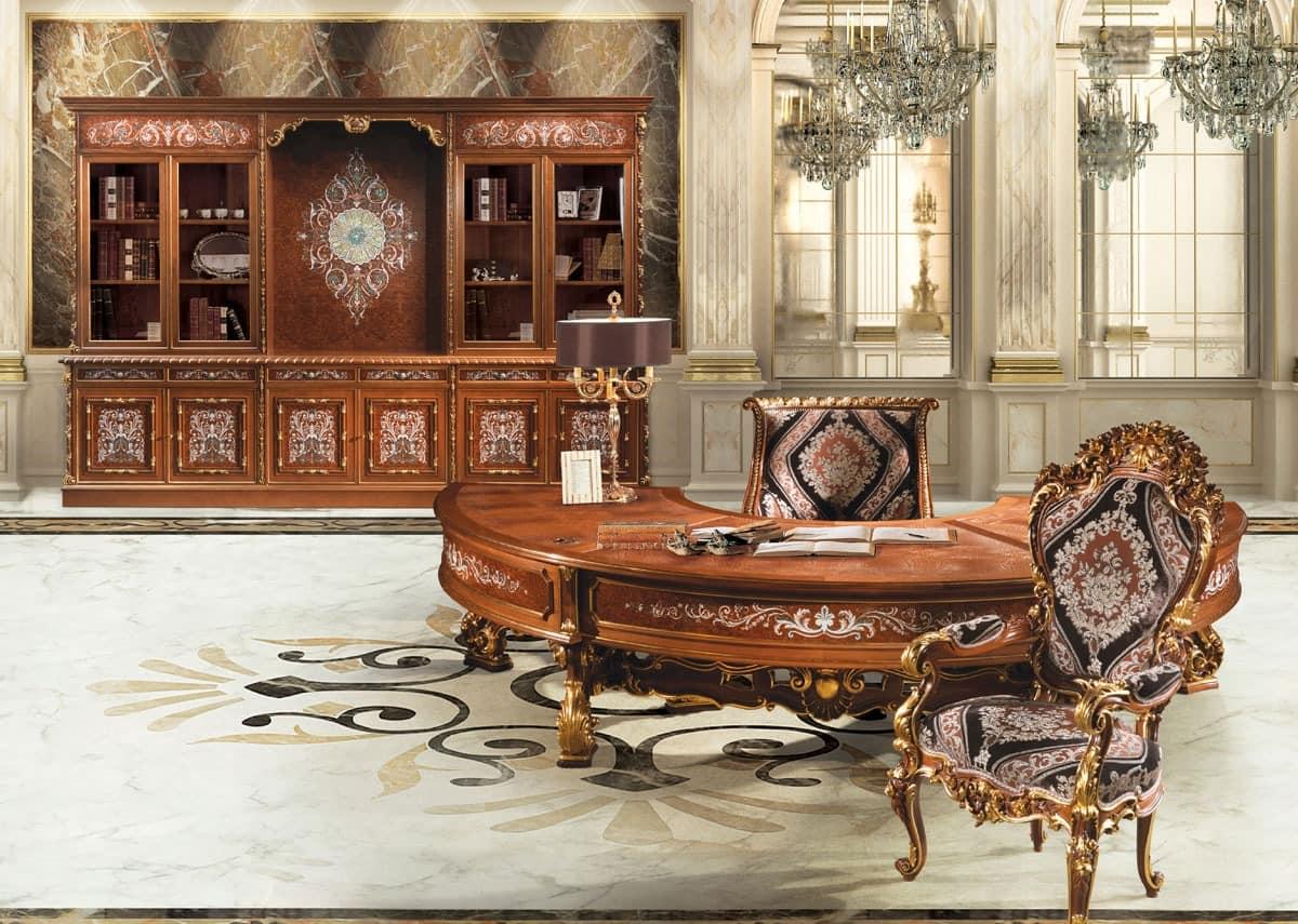 klassische m bel b ro herrliche schnitzereien feine materialien idfdesign. Black Bedroom Furniture Sets. Home Design Ideas