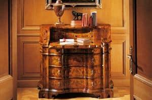 MEMORY Art. 400 / Bureau, In '700 venezianischen Stil Schreibtisch mit Schubladen
