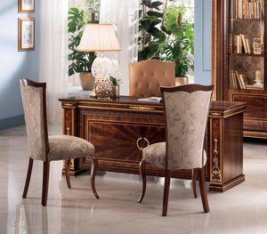 Modigliani Schreibtisch, Luxuriöser Schreibtisch im Empire-Stil
