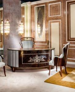 SC25, Holz-Schreibtisch für luxuriöse Umgebungen