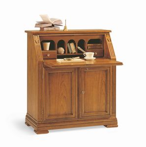 Villa Borghese Sekretär 6372, Büroschrank im klassischen Stil