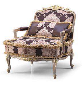 1708/A, Luxuriös geschnitzter Sessel