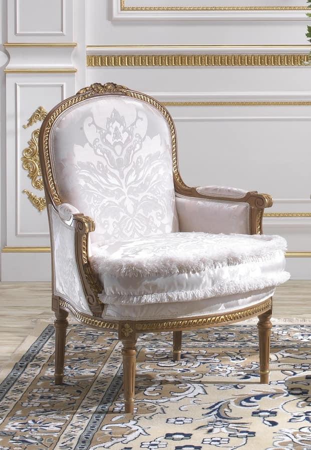 sessel f r wohnr ume im klassischen stil idfdesign. Black Bedroom Furniture Sets. Home Design Ideas