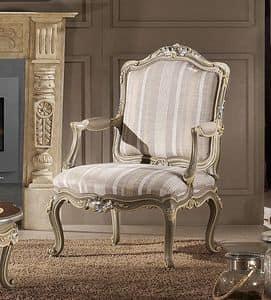 Art. 548, Überfüllter Sessel mit gepolsterten Armlehnen