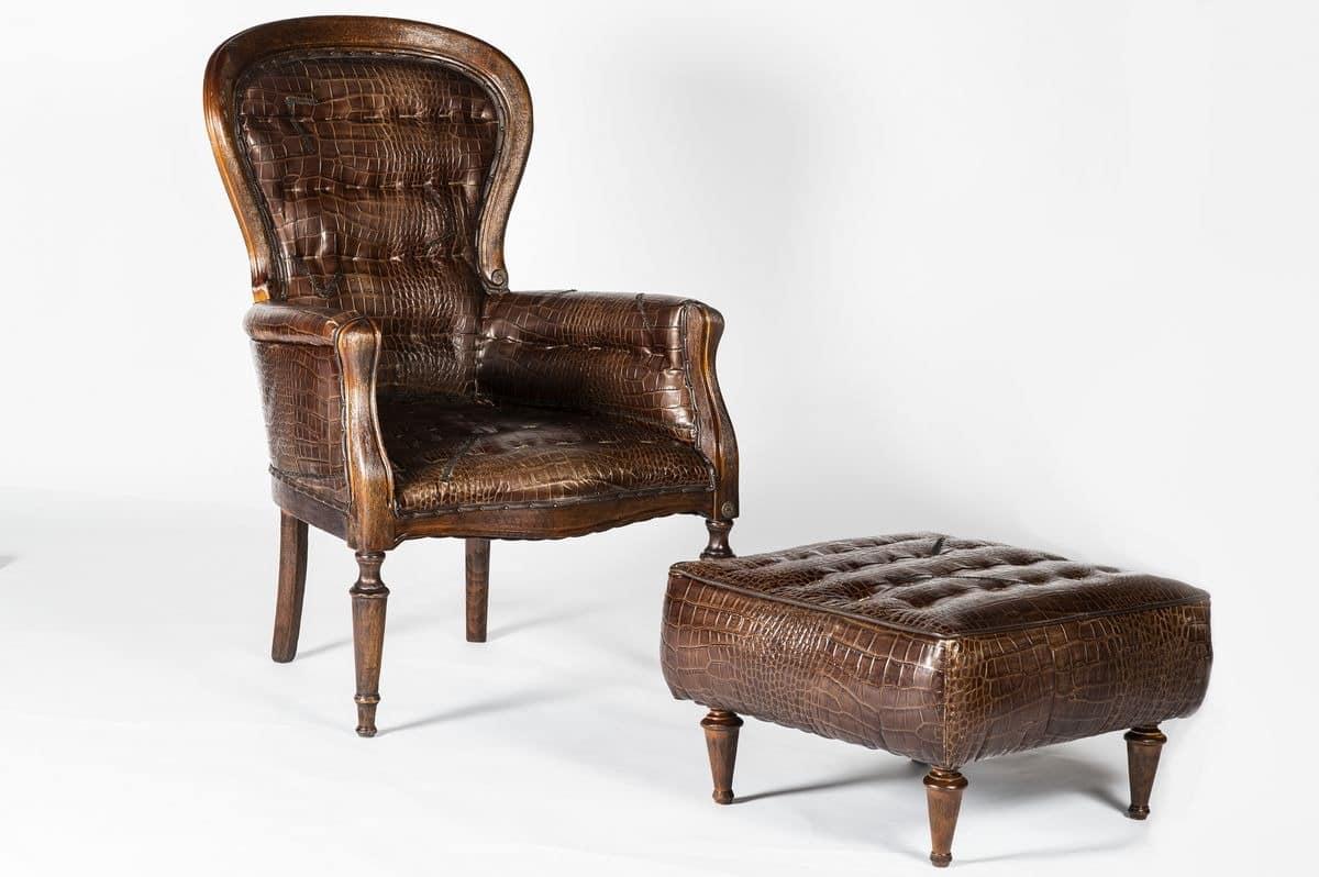 ledersessel f r wohnzimmer klassischen sessel f r. Black Bedroom Furniture Sets. Home Design Ideas