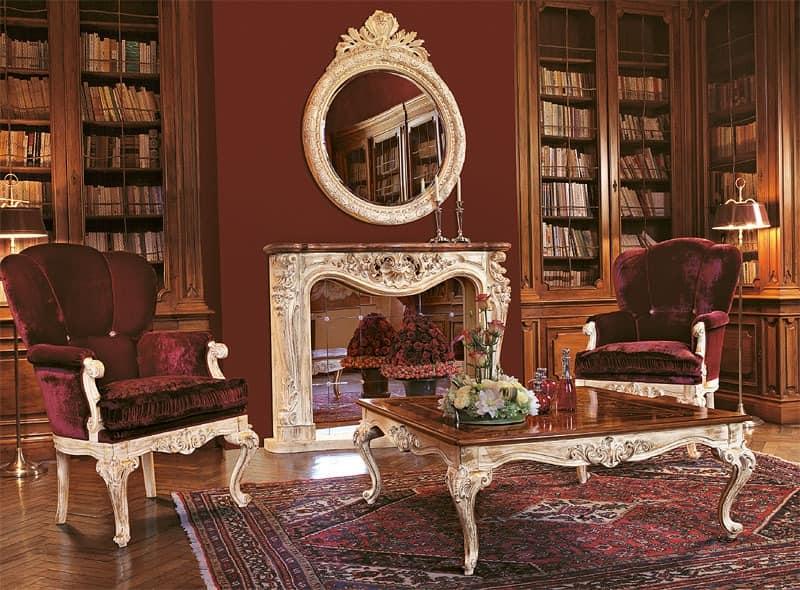 sessel f r luxus lounge handgeschnitzten holzbasis. Black Bedroom Furniture Sets. Home Design Ideas