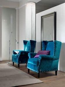 Art. CA931, Die komfortablen und eleganten Sessel, klassischer Stil
