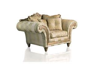 Art. IM 21 Imperial, Sessel mit tiefer Sitz, elegant herausnehmbare Polsterung