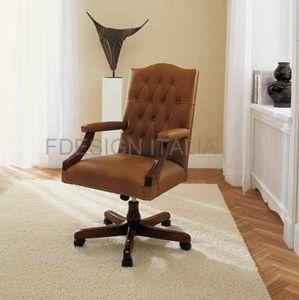 Artù, Klassischer Sessel mit Rollen