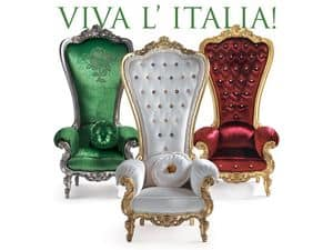 Bild von B/110/14 - B/110/6 - B/110/15 The Throne, polster sessel